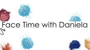 Face Time with Daniela Toronto Makeup Services