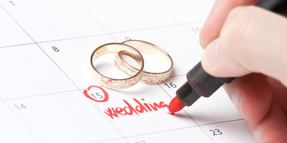 How to plan your wedding in 3 months