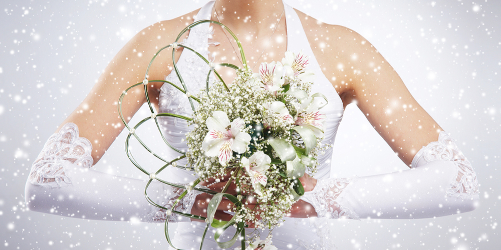 Best winter wedding color themes
